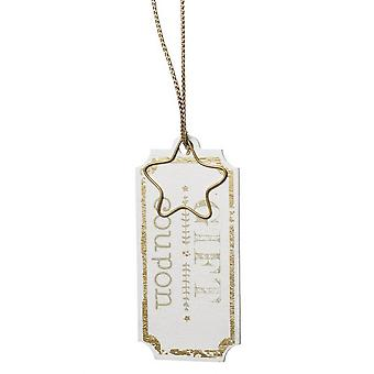 Heaven Sends Gift Coupon Wooden Tag