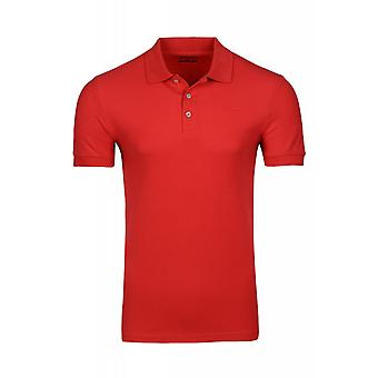 Lotto shirt polo shirt men's Piqué polo shirt Brodsky Red