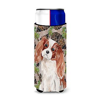 Blenheim Cavalier Spaniel Pine Cones Michelob Ultra Hugger for slim cans