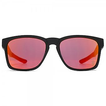Oakley Catalyst Sunglasses In Matte Black Ruby Iridium