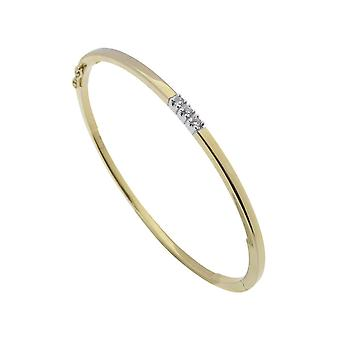 Раб золотой браслет с бриллиантами