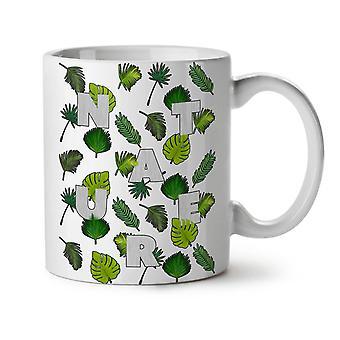 Leaf Tree Pattern Nature NEW White Tea Coffee Ceramic Mug 11 oz | Wellcoda
