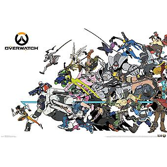 Overwatch - Cover Poster drucken