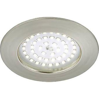 LED outdoor recessed light 10.5 W Warm white Briloner 7236-012 Nickel (matt)