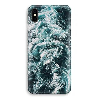iPhone X Full Print Case (Glossy) - Ocean Wave