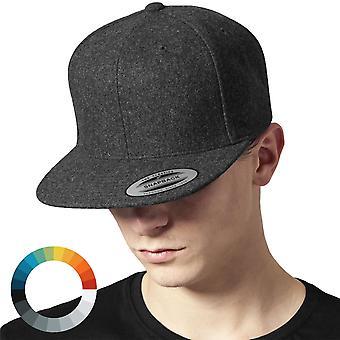 Flexfit MELTON WOOL Snapback Cap