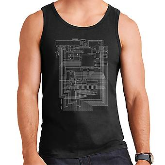 Apple I Computer Schematic Men's Vest