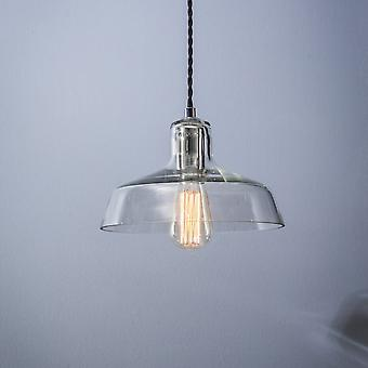 Garden Trading Hoxton Glass Pendant Light