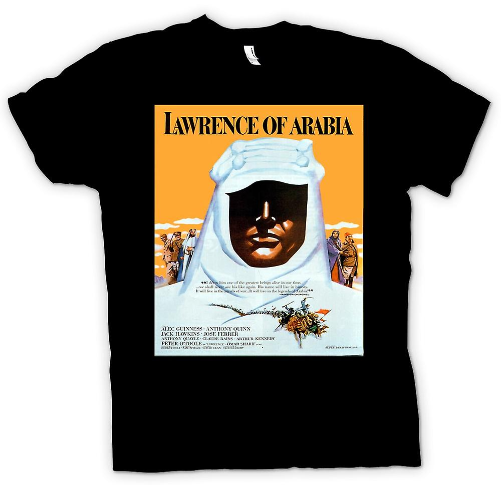 Womens t-shirt - Lawrence de Arabia - cine clásico