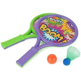 Toyrific Boom chauves-souris sertie de balle & volant