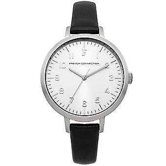 French connection watch ladies silver