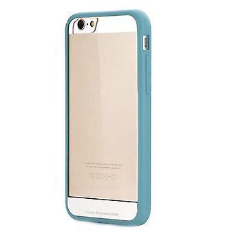 Original rock faceplate bumper light blue for Apple iPhone 6 plus 5.5