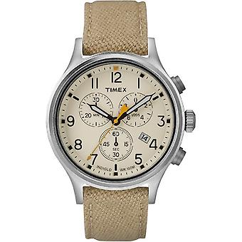 Timex mens watch Allied chronograph 42 mm Nylon Strap TW2R47300