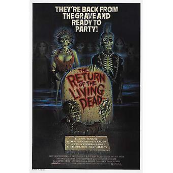 Il ritorno del Living Dead Movie Poster (11x17)