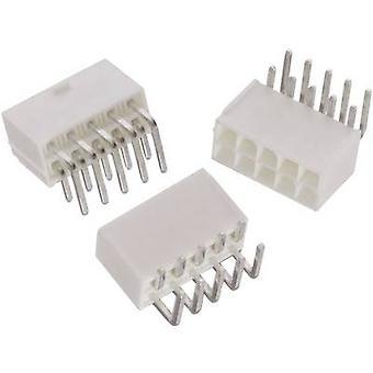 Würth Elektronik 64900229522 Built-in receptacles (standard) WR-MPC4 Total number of pins 2 Contact spacing: 4.20 mm 1 p