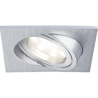 Paulmann Coin 92800 LED recessed light 6.8 W Warm white Aluminium (brushed)