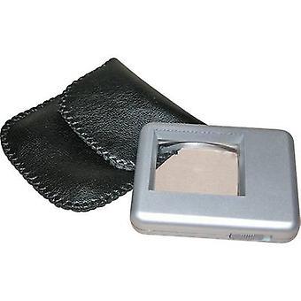 Reading magnifier incl. light Lens size: (L x W) 38 mm x 30 mm
