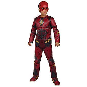 The Flash Deluxe Barry Allen Justice League Superhero Licensed Boys Costume