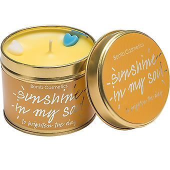 Bomb Cosmetics Tinned Candle - Sunshine In My Soul