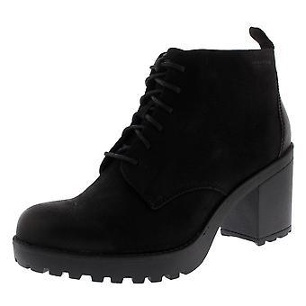 Womens Vagabond Grace Black Block Heel Festival Winter Fashion Ankle Boot
