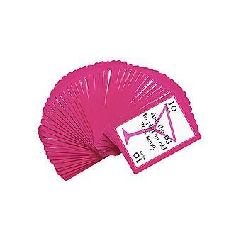 Wagen Tätigkeit Spiel Karten - Deck von 52