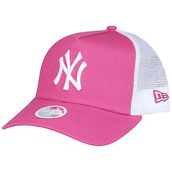 New Era Damen Mesh Trucker Cap - New York Yankees pink