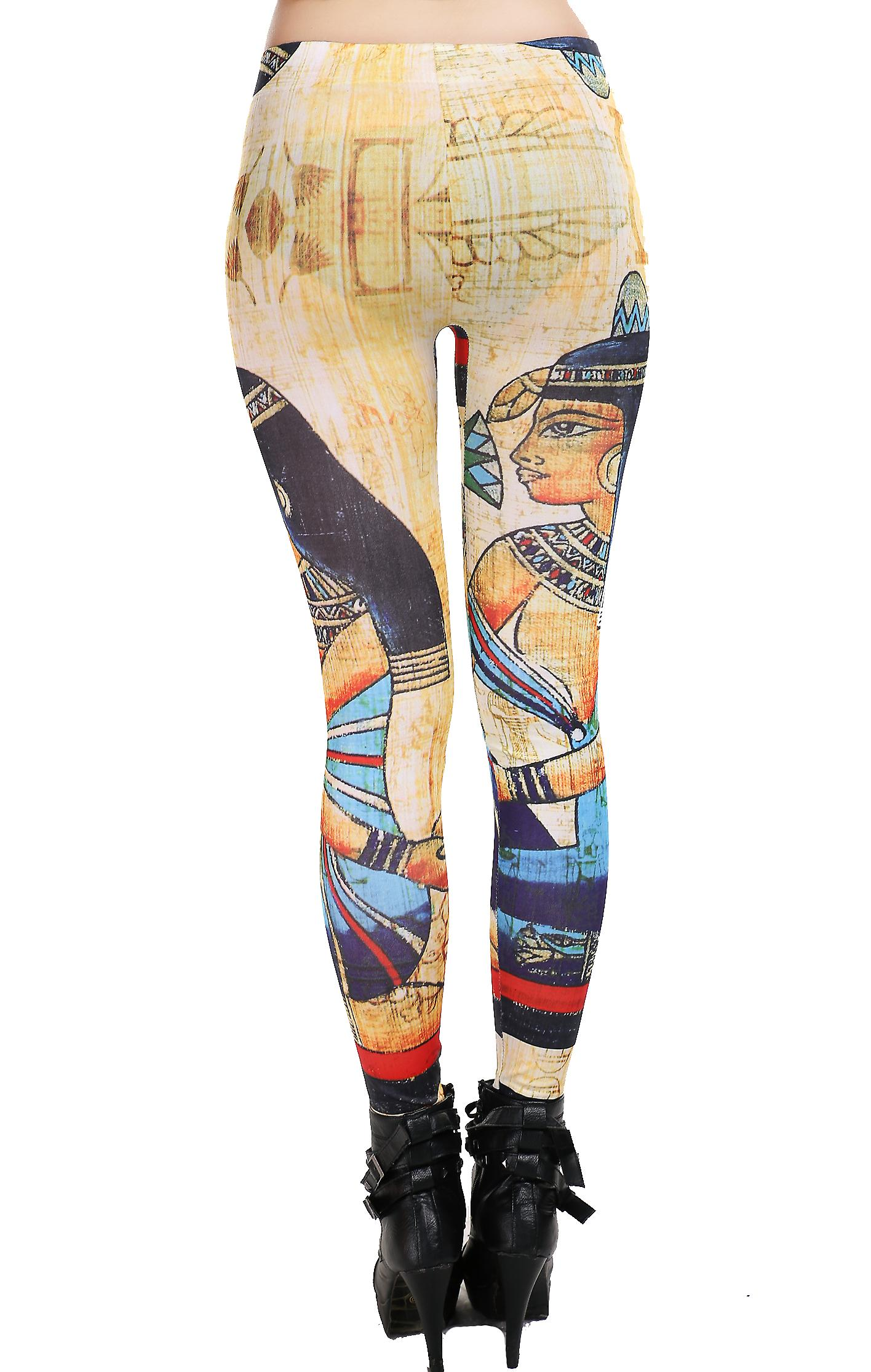 Waooh - mode - leggings tryckta papyrus Ainara - multicolor