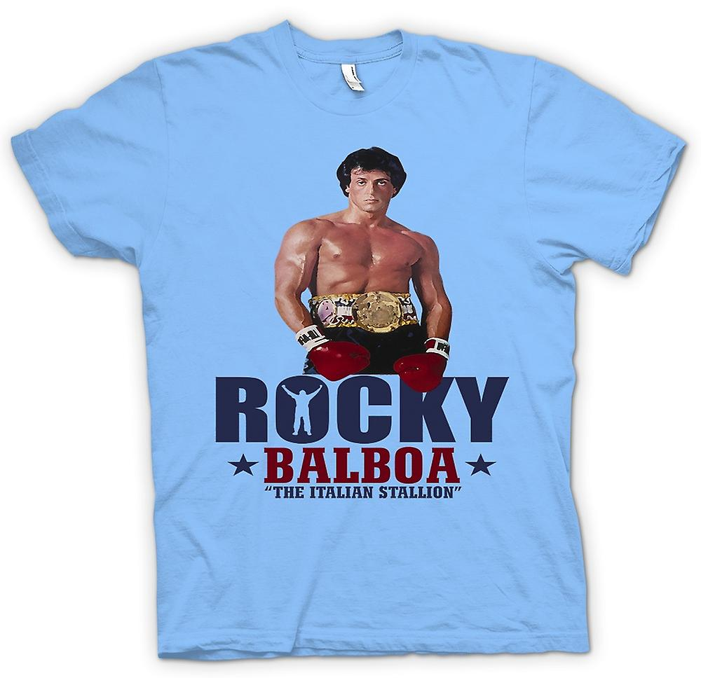 Mens T-shirt - Rocky Balboa Italian Stallion - Movie