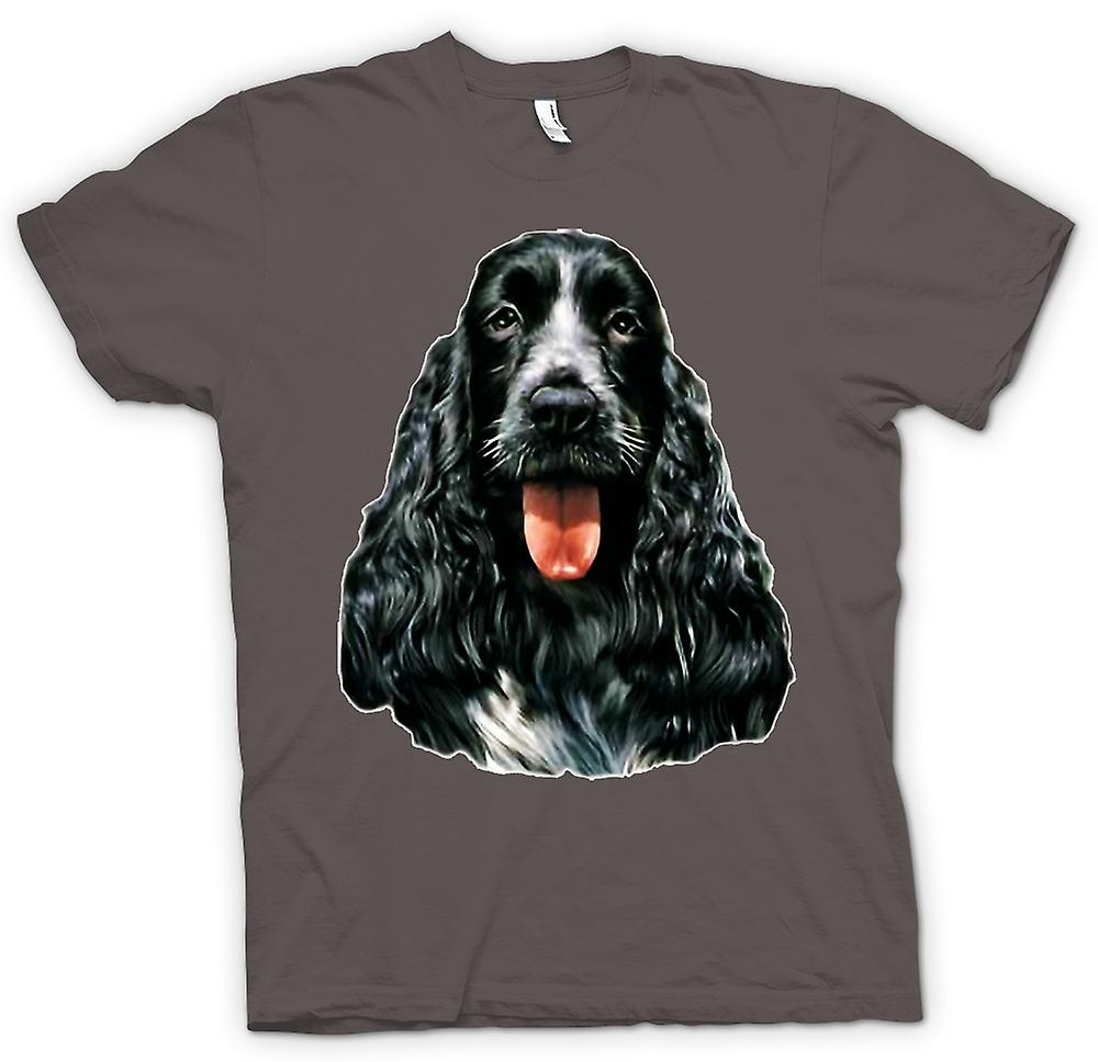 Mens t-skjorte-Cocker Spaniel - Pet - hund