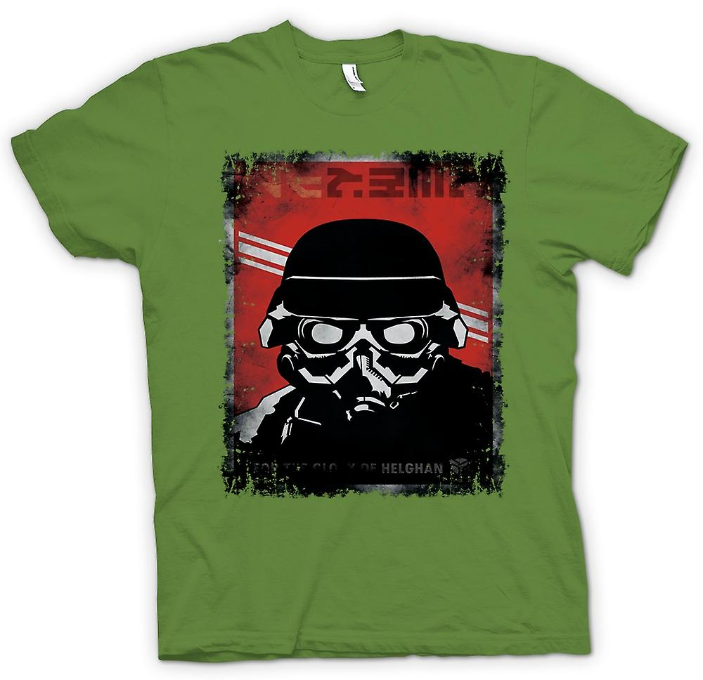 Mens t-shirt-Kill Zone Helgan Gamer
