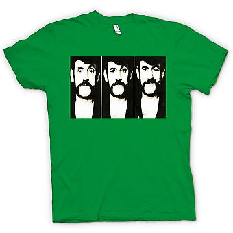 Womens T-shirt - Lemmy - Motorhead - BW - Photo Slide