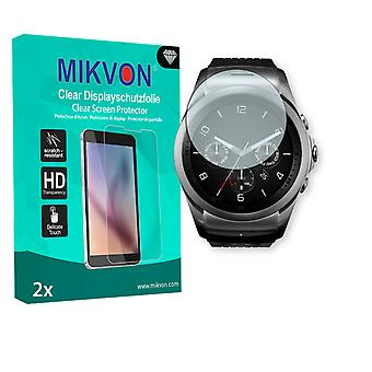 LG Watch Urbane 2nd Edition Screen Protector - Mikvon Clear (Retail Package with accessories)