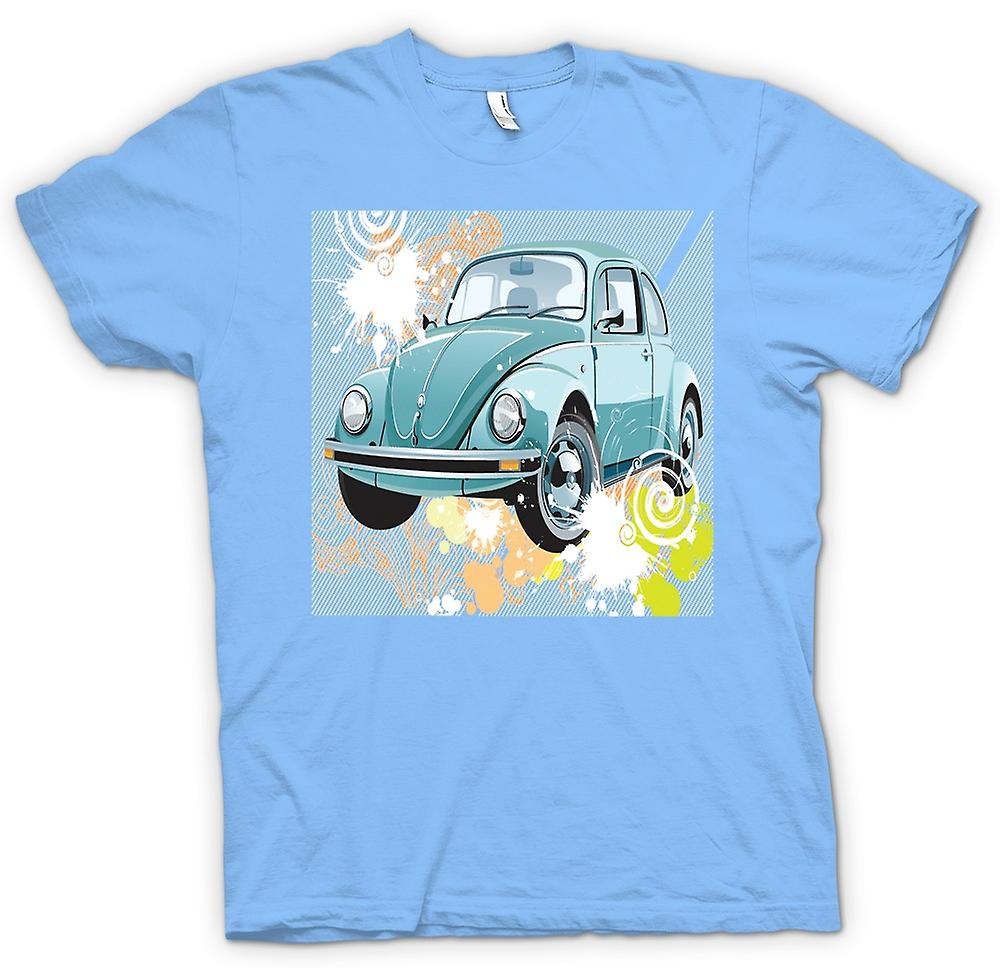 Mens t-skjorte - VW Beetle - Pop Art