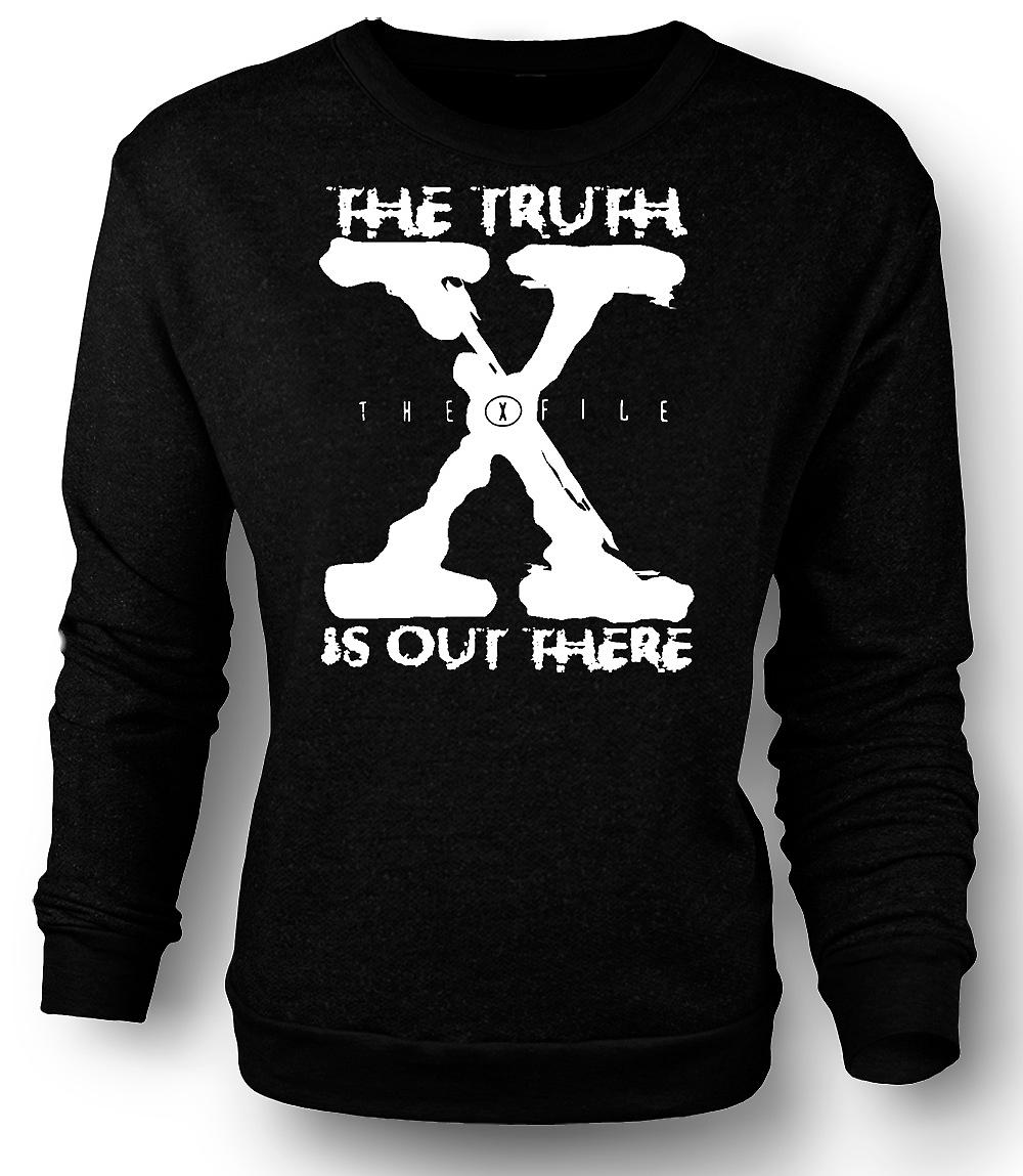 Mens Sweatshirt X File Truth Is Out There - UFO
