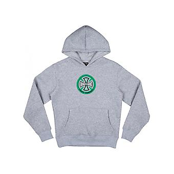 Independent Athletic Heather Hollow Cross Kids Hoody