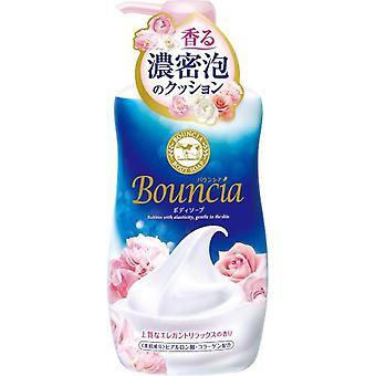 Bouncia Body Soap Pump Elegant entspannen Rose Milch 550ml