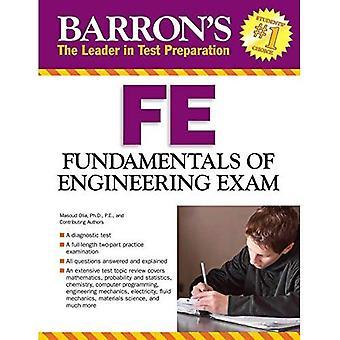Fundamentals of Engineering Exam (Barron's Fe: Fundamentals of Engineering Exam)
