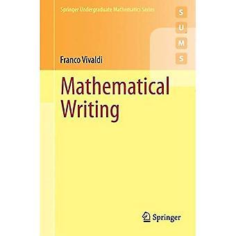 Matematiska skrivande (Springer grundutbildningsprogram matematik-serien)