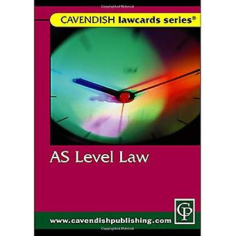 As Level Lawcard