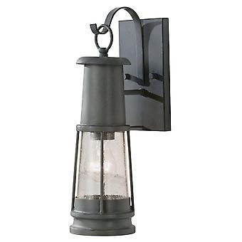 Harbor wandlamp - antiek grijs