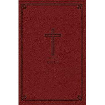NKJV, Thinline Bible, Standard Print, Imitation Leather, Red, Red Letter Edition, Comfort Print