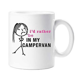 Ladies I'd Rather Be In My Campervan Mug