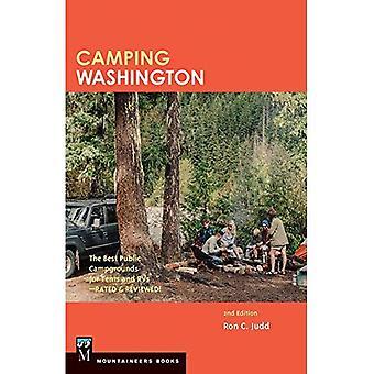 Camping Washington: De bästa offentliga campingplatser för tält och husvagn