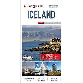 Insight Guides Travel Map Iceland (Insight Travel Maps)