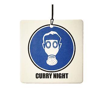Ambientador de aire de la noche de curry