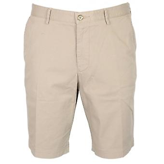 Hugo Boss Slice Cotton Beige Chino Shorts
