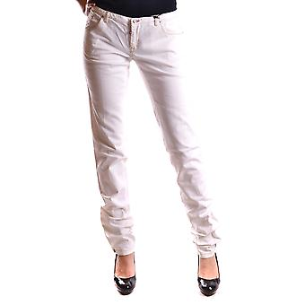 Dsquared2 White Cotton Jeans