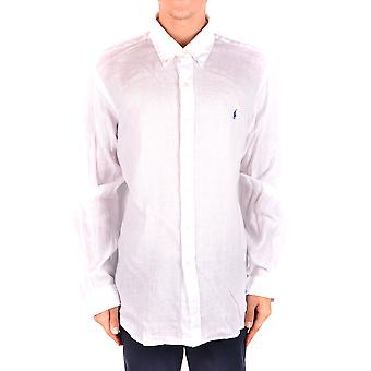 Ralph Lauren White Linen Shirt