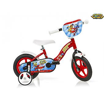 Super Wings 10 Inches Children's Bike - Dino Bikes