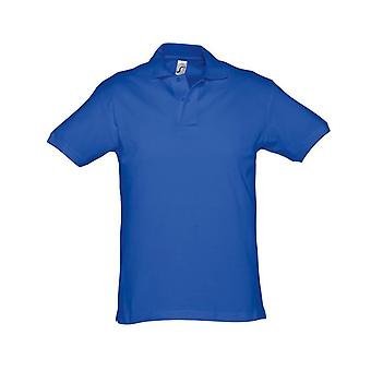 SOLS Mens Spirit Short Sleeve Pique Polo Shirt